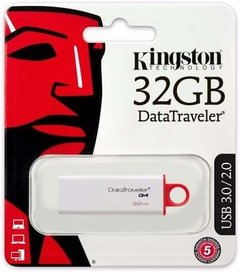 Pendrive Kingston 32gb Dt G4 Datatraveler Usb 3.0 3.1 - tienda online