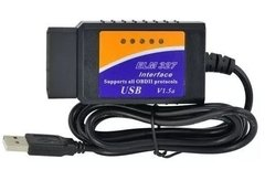 Scanner Automotriz Elm327 Odb2 V1.5 Usb Multimarca Diagnosti - TecnoEshop CBA