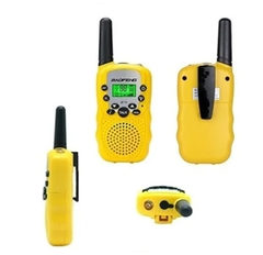 Kit X 2 Handy Walkie Talkie Baofeng Bf-t3 Radio Uhf 22 Canal