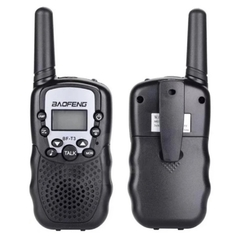Imagen de Kit X 2 Handy Walkie Talkie Baofeng Bf-t3 Radio Uhf 22 Canal