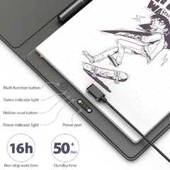 Tabla Digitalizadora Xp-pen Note Plus Lápiz Óptico Bluetooth - comprar online