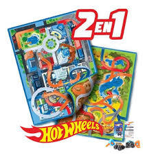 alfombra hot wheels pista reversible