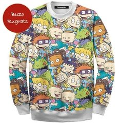 Buzo Rugrats faces