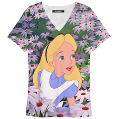 Remera Alice Lost in flowers