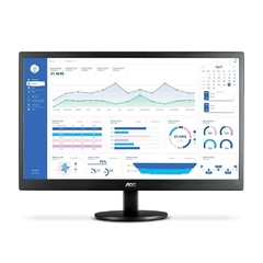 "Monitor AOC 23,6"" LED M2470SWH2 (HDMI/VGA/VESA/Ajuste de Incilinacao/1920x1080 Full HD"