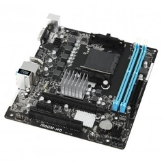Placa Mãe AsRock 760GM-HD (AM3+ / AM3, 8-Core CPU/DDR3/PCI/USB 2.0/HDMI/D-Sub) - comprar online