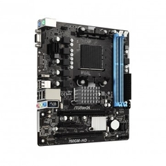 Placa Mãe AsRock 760GM-HD (AM3+ / AM3, 8-Core CPU/DDR3/PCI/USB 2.0/HDMI/D-Sub) na internet