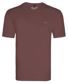 TSHIRT MALHA PREMIUM WRANGLER COLLECTION - VINHO - WM58521