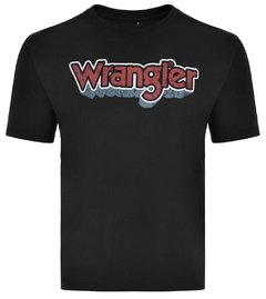 TSHIRT WRANGLER COLLECTION MASCULINA - PRETO - WM58619