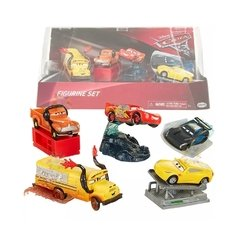 Cars Set 5 Autos Jakks Playset - comprar online