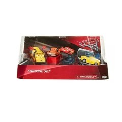 Cars Set 5 Autos Jakks Playset