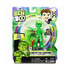 Ben 10 Muñeco 13cm Glitch Ben Out of the Omnitrix