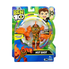 Ben 10 Muñeco 13cm Hot Shot