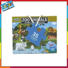 Rompecabeza Jumbo Floor Animales Zoo Animals en internet