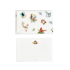 Cute Christmas Birds Card - buy online