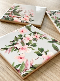 Set with 4 tile coasters - buy online