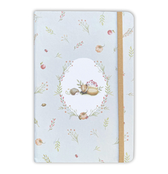 Notebook Large - Forest Animals - Measures 14x21cm