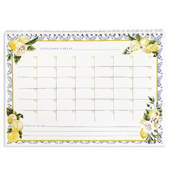 Monthly Planner - Lemon and Tiles (wire-o) - buy online