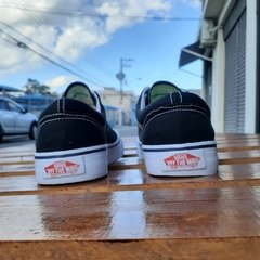 Vans Authentic Preto/Branco - Tenis Mogi