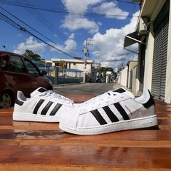 Adidas Superstar Branco/Preto na internet