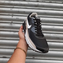 Nike Air Max 90 Grafite/Bege na internet