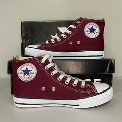 All Star Cano Alto Vinho