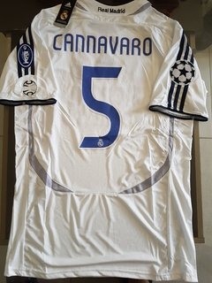 Camiseta adidas Retro Real Madrid Titular Cannavaro #5 2006