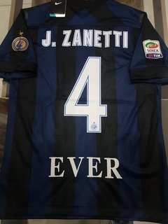 Camiseta Nike Retro Inter de Milano J. Zanetti #4 For4 Pupi
