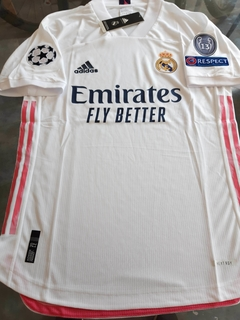Camiseta adidas Real Madrid HeatRdy Titular 2020 2021 UCL MATCH