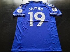 Camiseta Hummel Everton Titular James #19 2020 2021 Premier