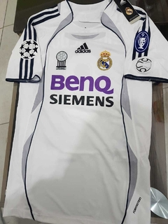 Camiseta adidas Real Madrid Retro Titular Beckham #23 2006 en internet