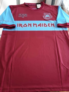 Camiseta West Ham Titular ed. Limitada Iron Maiden 11 2019 2020