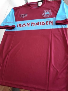 Camiseta West Ham Titular ed. Limitada Iron Maiden 11 2019 2020 en internet