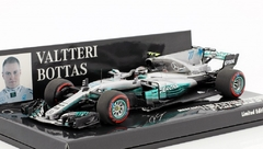 Miniatura Mercedes-Benz W08 EQ-Power #77 F1 - V. Bottas - GP México 2017 - 1/43 Minichamps