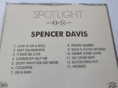 SPENCER DAVIS - SPOTLIGTH na internet