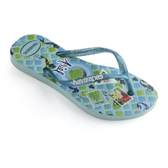 Ojotas Havaianas Kids Slim Princess Originales Ice blue - comprar online