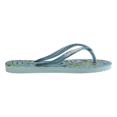 Ojotas Havaianas Kids Slim Princess Originales Ice blue en internet