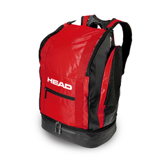MOCHILA HEAD TOUR BACKPACK 40 LITROS BLACK RED