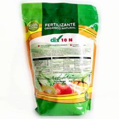 Dix 10 N Fertilizante Orgánico Natural