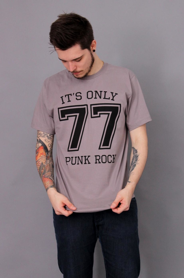 PUNK ROCK 77 T-SHIRT BÁSICA