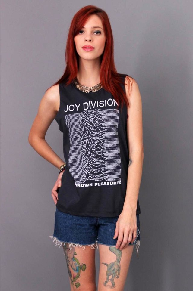 JOY DIVISION REGATA BOYFRIEND - Rocket Camisetas