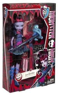 Boneca Monster High Jane Boolittle - Mattel - comprar online