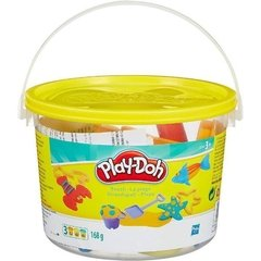 Mini Balde Praia de Massinha Play Doh - Hasbro - 23414
