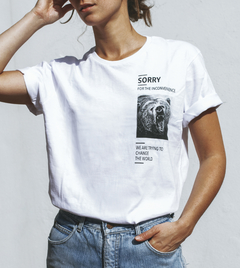 Remera SORRY - Ethical Bear