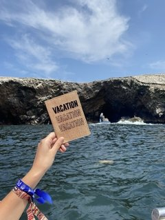 "Porta Pasaporte ""VACATION"" - PROUD"
