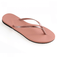 Ojotas Havaianas You Metallic Nude Rose