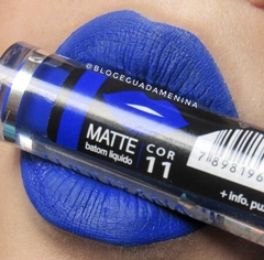 Labial Ludurana azul color 11