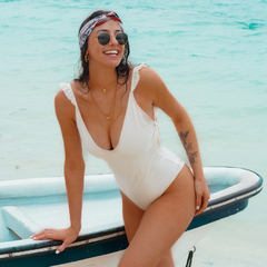 One-Piece White