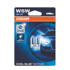 Lâmpada W5W Osram Cool Blue Intense