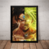 Lindo quadro arte Wiz Yakusa fantastica Dragon Ball super Broly 42x29cm